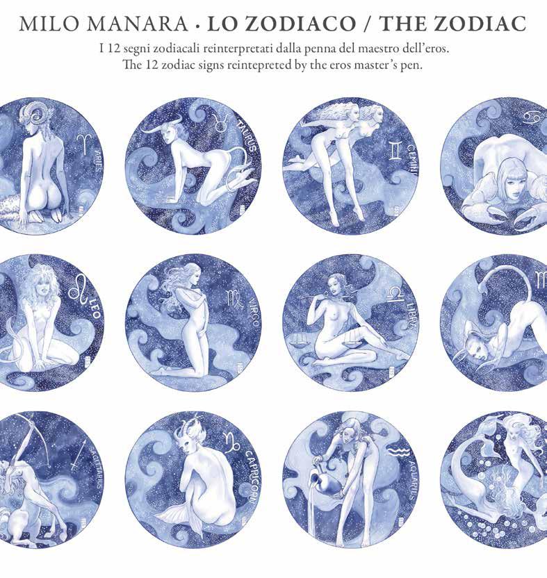 Calendario Zodiaco.Fumetteria Inkiostro Alassio Lo Zodiaco The Zodiac