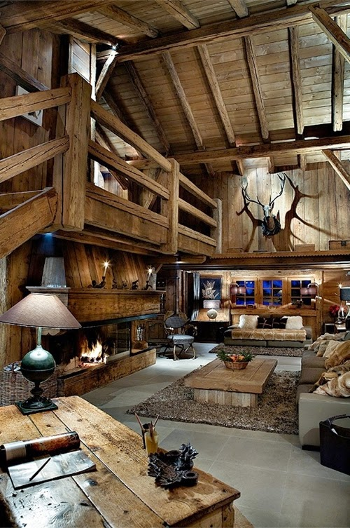Rustic Interior Design Most Beautiful Houses The World