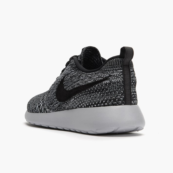 the latest 74f18 6bcdc Nike Womens Roshe One Flyknit. Cool Grey, Wolf Grey, White, Black.  704927-007