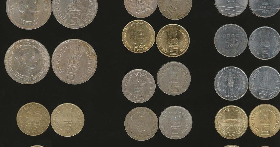 Jk Collection World 33 Different Types 5 Rupee Coins