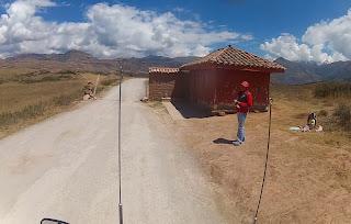 Pedágio para visitar as Salineras de Maras / Peru.