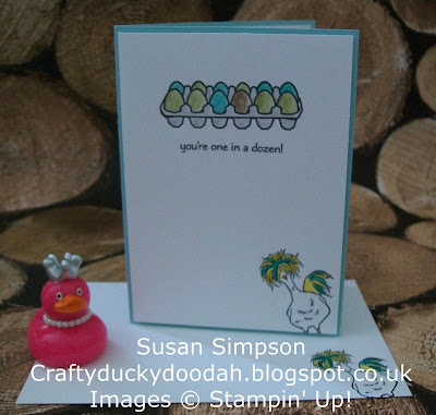 Stampin' Up! UK Independent Demonstrator Susan Simpson, Craftyduckydoodah!, Perfect Mix, Hey Chick, Supplies available 24/7,