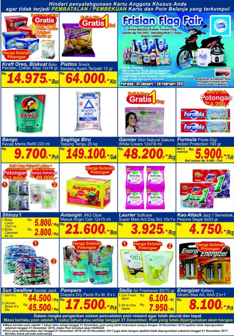 Katalog Harga Promo Indogrosir 6 – 12 Januari 2017