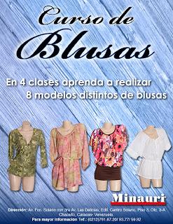 Curso Costura Confección Blusas - Sewing Blouses