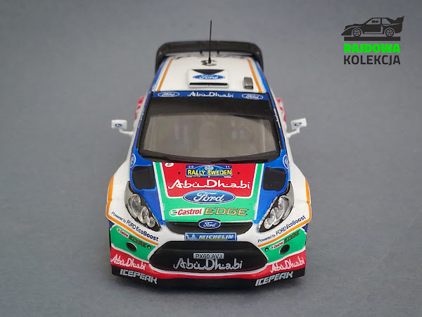 IXO Altaya Ford Fiesta RS WRC Rally Sweden
