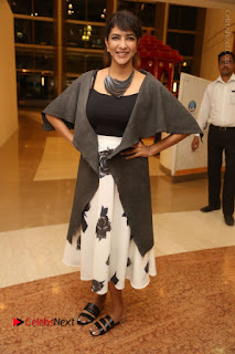 Actress Lakshmi Manchu Pos at Asian Para Badminton Championship Winners Felicitation Ceremony  0062.JPG
