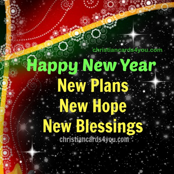 Happy New Year Christian Card | Christian Cards for You