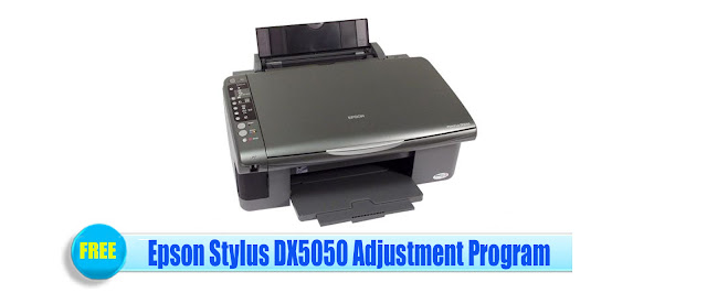 Epson Stylus DX5050 Adjustment Program