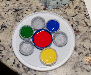 recycle paint palette