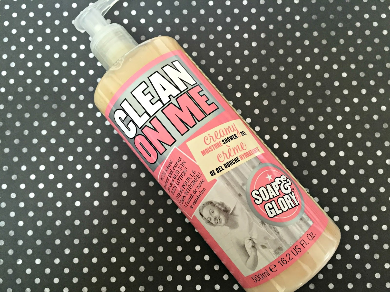 Soap & Glory Clean on Me Vegan Shower Gel