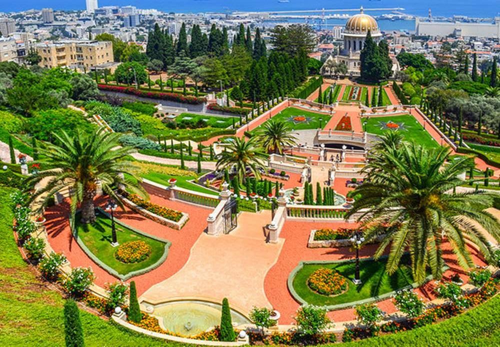 baha�i shrine and gardens the holy place of baha�i faith