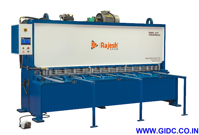 RAJESH MACHINE TOOLS PVT. LTD. Hydraulic Shearing Machine - 9081055595 | 9724028080 | 9624895360