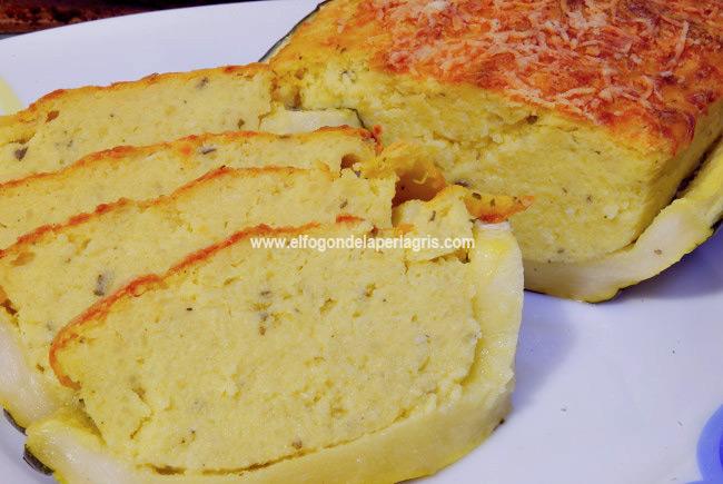 Calabacines rellenos de tortilla