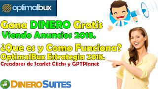 OptimalBux nueva PTC pagando 2018