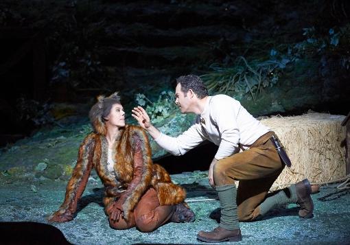 Janacek: The Cunning Little Vixen - Chen Reiss (Vixen), Gerald Finley (Forester) - Vienna State Opera (Photo Wiener Staatsoper | Michael Pöhn)