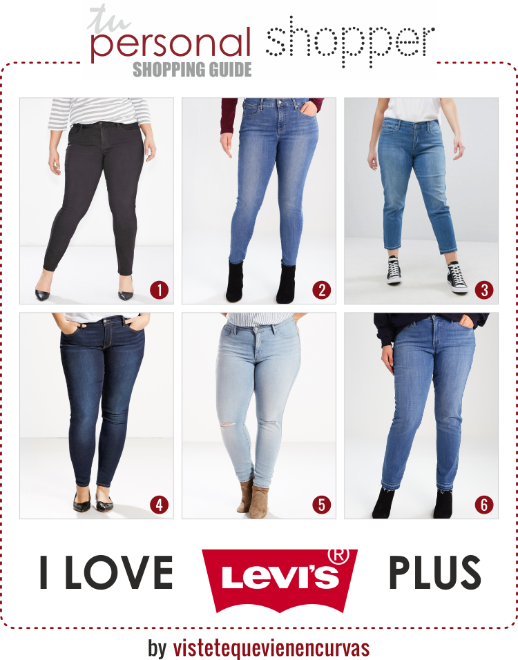 Levi S Plus Size Ya Era Hora Happy Shopping Vístete Que Vienen Curvas