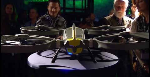 圖說: Avular 的無人飛行器,主要應用在工業或農業上,圖片來源: YouTube 截圖