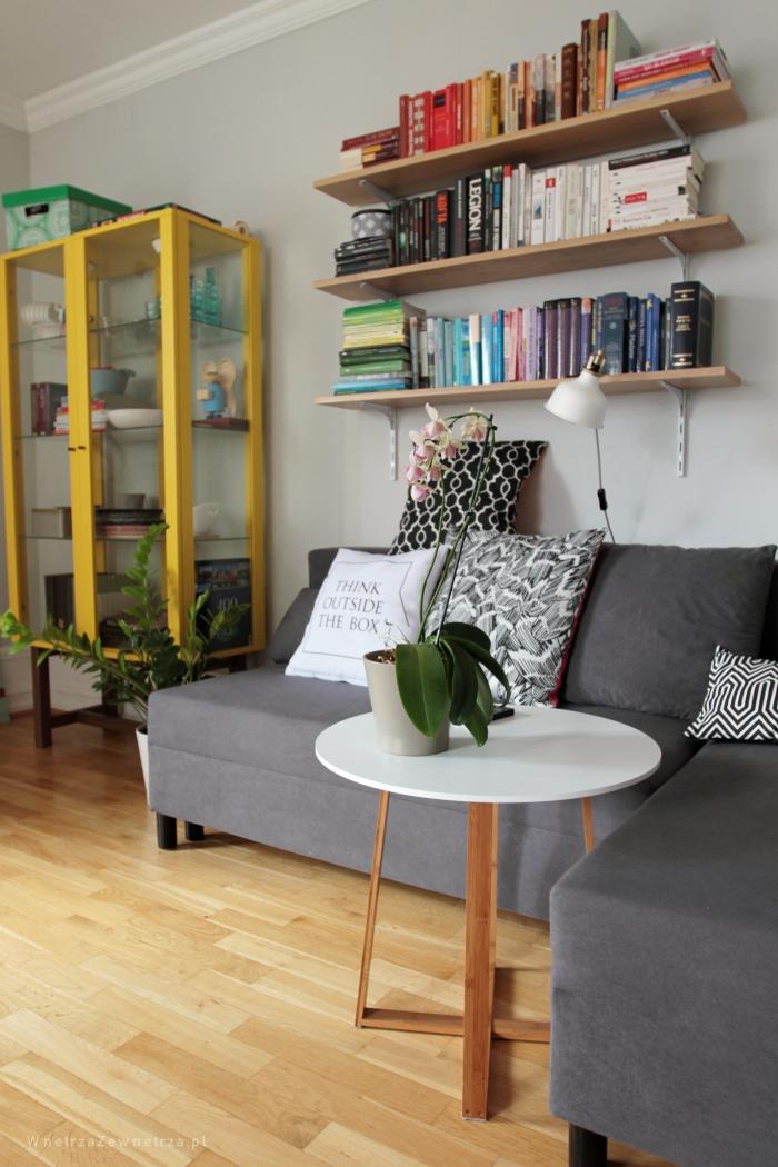 Półki Na Książki W Naszym Salonie Wnętrza Zewnętrza Blog
