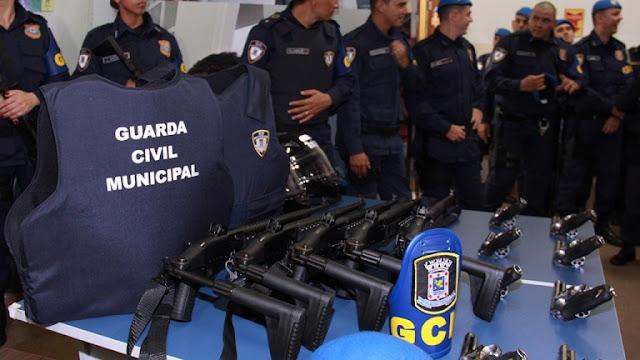 Campo Grande (MS) terá 303 guardas municipais armados nas ruas até o fim de junho