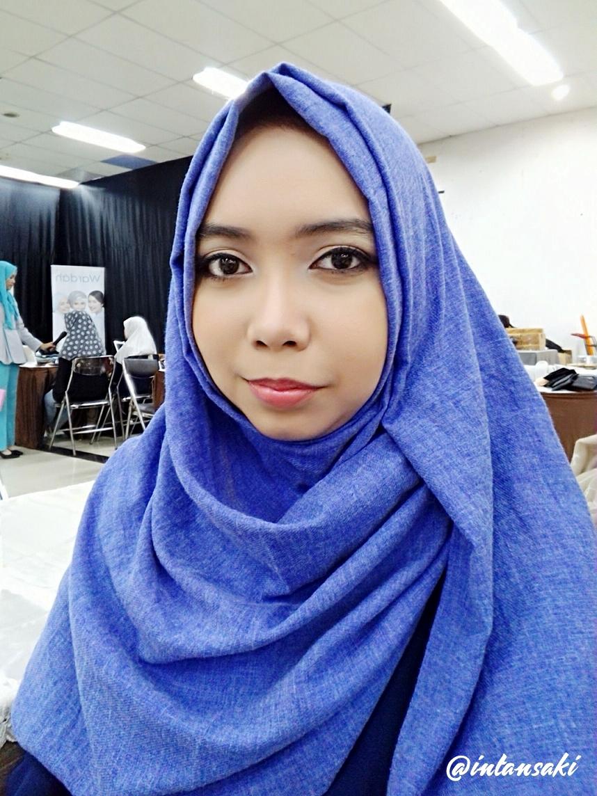Intansaki Event Wardah Beauty Class Viva Pensil Alis Htm 13gr Ini Hasil Makeup Aku Lupa Banget Foto Dan Satu Satunya Yang Punya Mukaku Ga Beraturan Gitu Posenya Haha Keterangan Pula Cahayanya
