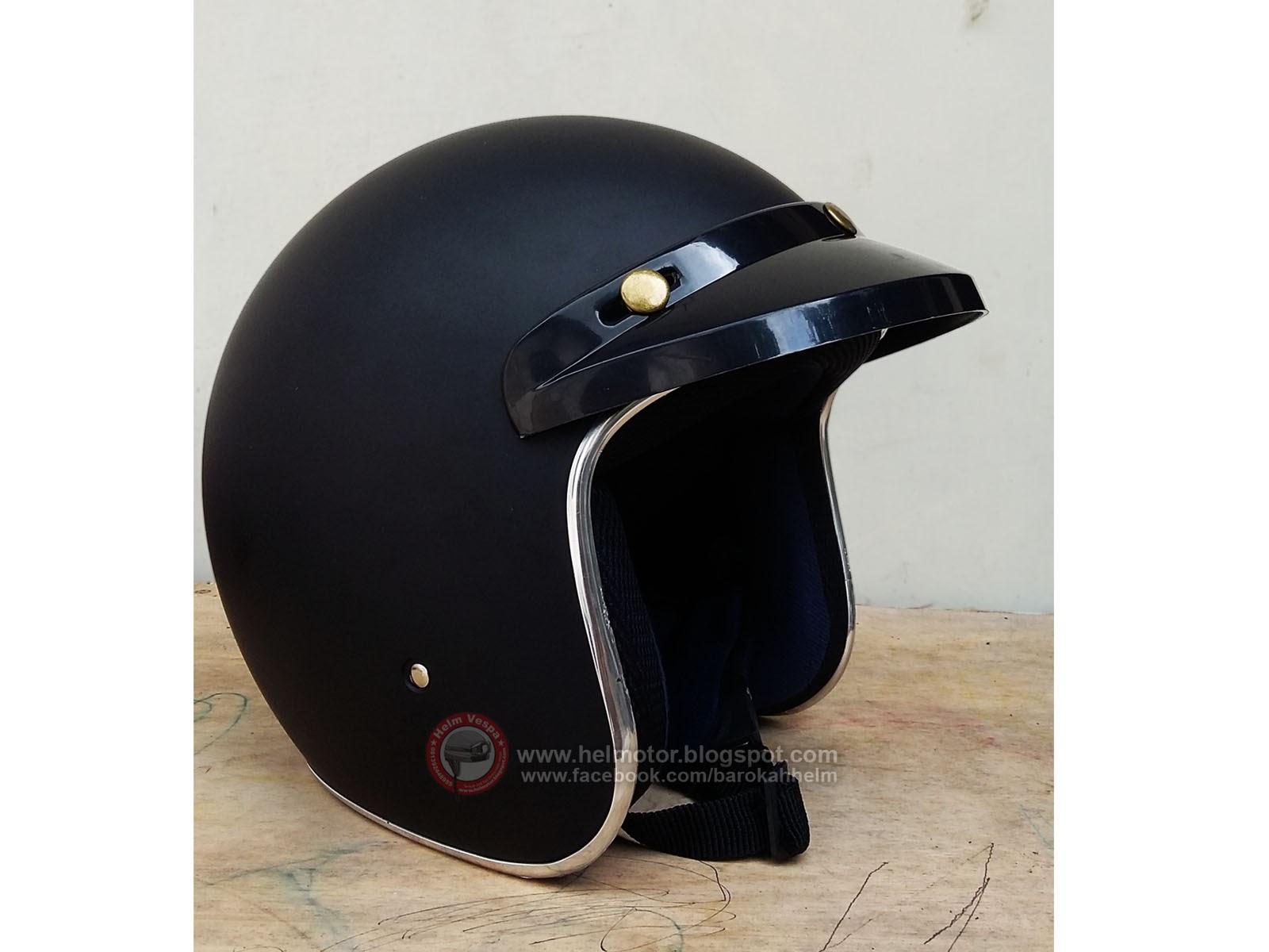 helm retro blackdoff pet helm vespa. Black Bedroom Furniture Sets. Home Design Ideas