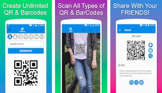 pada kesempatan ini aku akan membagikan sebuah aplikasi yang sangat mempunyai kegunaan sekali untuk QR and Barcode Scanner PRO v1.0.9 Apk