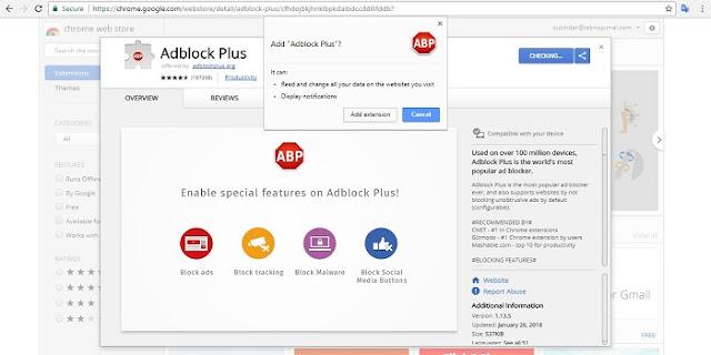 Cara Mengatur Adblock di Google Chrome