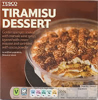 sobremesa Tiramisu do Tesco