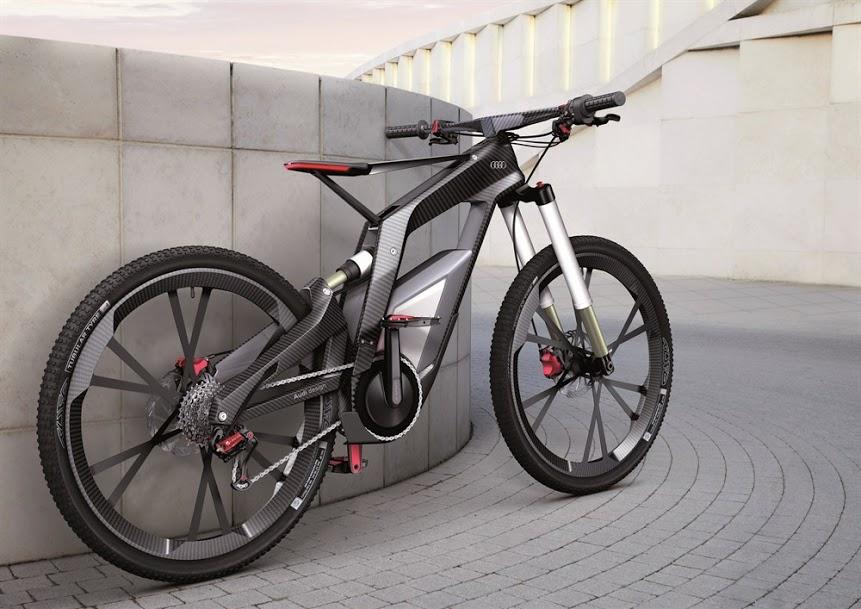 automobile trendz audi electric bike. Black Bedroom Furniture Sets. Home Design Ideas