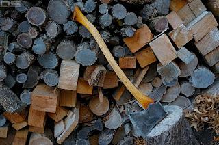 vintage axe restoration