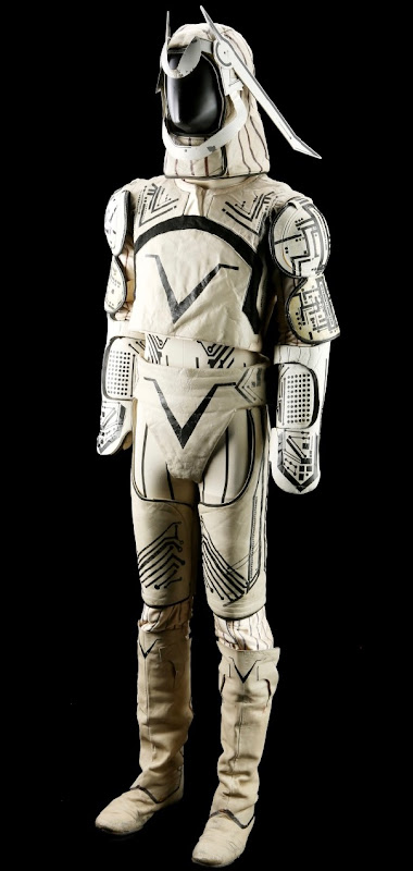 David Warner Sark Grid costume Tron