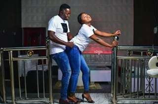 Nigerian Couple Take Pre-Wedding Photoshoot To Nightclub (Photos)