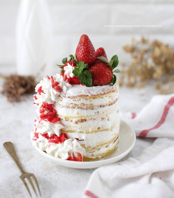 Resep Naked Cake By ikke145 Ala Rumahan