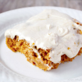 3 Ingredient Pumpkin Cake