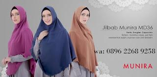 Jilbab Munira MD 47 Koleksi jilbab syar'i terbaru dewasa