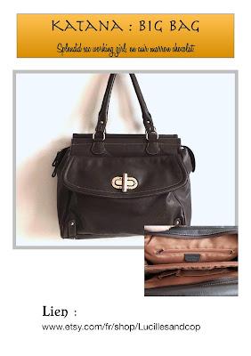 working girl,xxl bag,messenger bag,sac cabs en cuir,cuir marron,brown leather bag