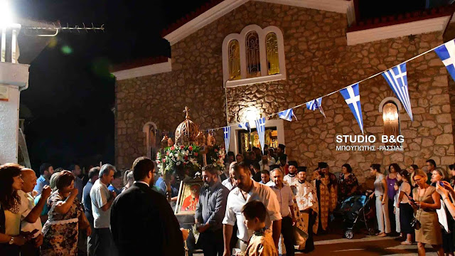 Αργολίδα: Πανηγυρικός Εσπερινός Αγίας Μαρίνας στο Νέο Ροεινό (βίντεο)