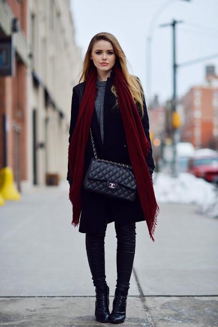 Stylizacje Zima 2018/2019 - blog o modzie damskiej