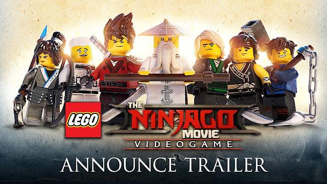 Se anuncia la NinjaGO Película- El videojuego