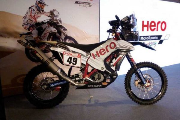 Hero RR450 Rally Bike india