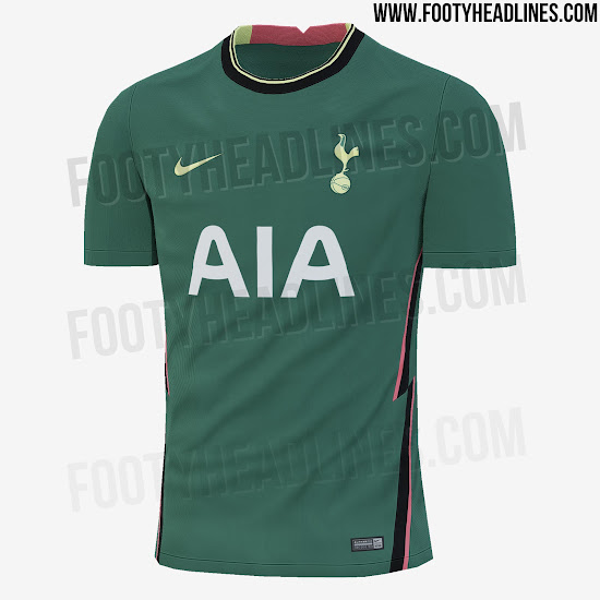 Tottenham hotspur dls kits 2021 is very colorful and stylish. Nike Tottenham 20 21 Home Away Third Fourth Kits Leaked Footy Headlines
