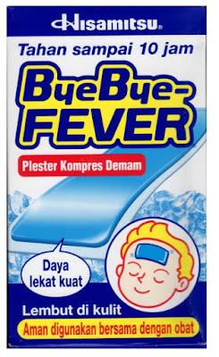 Harga Bye Bye Fever Anak Terbaru 2017