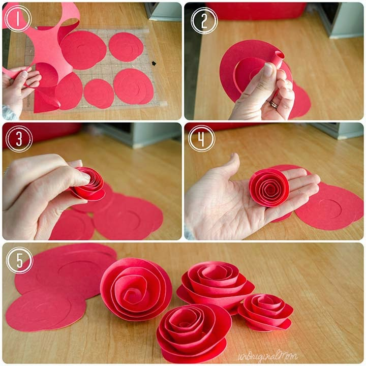 Silhouette Paper Flowers Wreath Tutorial Silhouette School