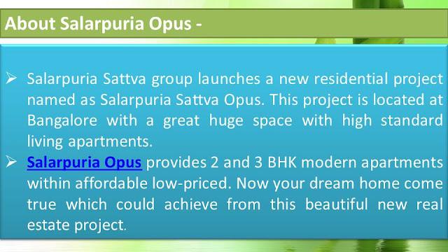 Salarpuria Opus