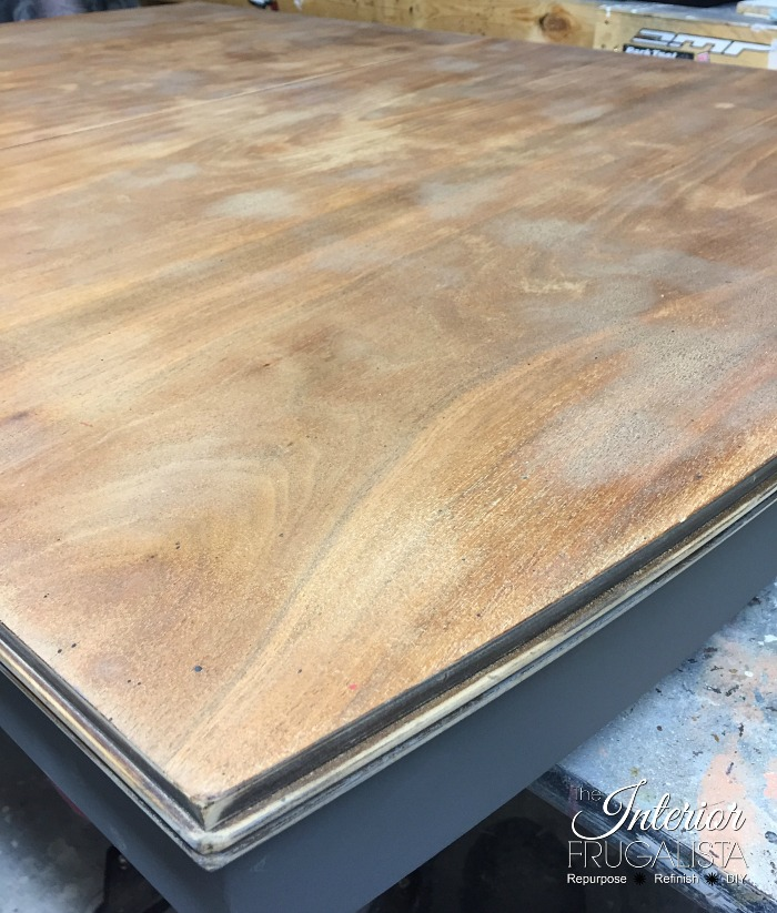 Painted Dining Room Set Table Top Sanded