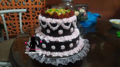Cake Tart Wedding Party Susun 2