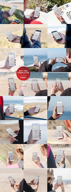 24 Free IPhone 6 Mockup Templates