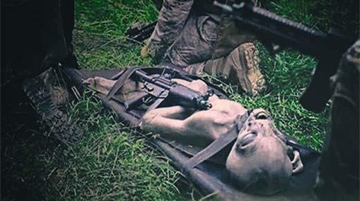 Alienígena Gris es disparado y asesinado en la base de la Fuerza Aérea de EE.UU. - 1978
