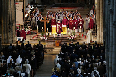 The funeral Mass for Father Jacques Hamel