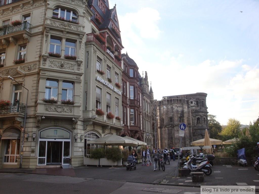 rua do Altstadt Hotel Trier